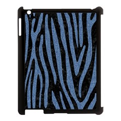 SKN4 BK-MRBL BL-DENM (R) Apple iPad 3/4 Case (Black)