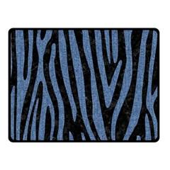 SKN4 BK-MRBL BL-DENM (R) Double Sided Fleece Blanket (Small)