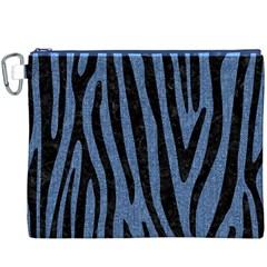 SKN4 BK-MRBL BL-DENM Canvas Cosmetic Bag (XXXL)