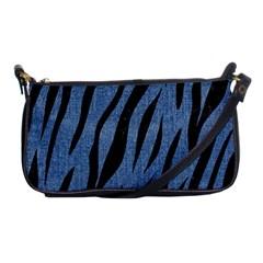 SKN3 BK-MRBL BL-DENM (R) Shoulder Clutch Bags
