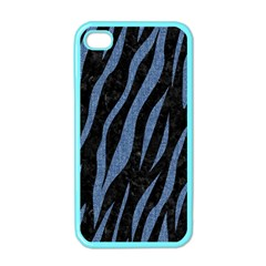 SKN3 BK-MRBL BL-DENM Apple iPhone 4 Case (Color)