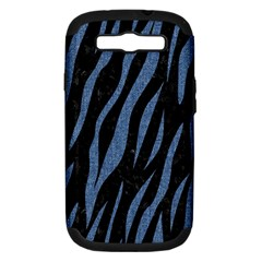 SKN3 BK-MRBL BL-DENM Samsung Galaxy S III Hardshell Case (PC+Silicone)