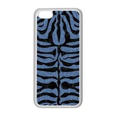 SKN2 BK-MRBL BL-DENM (R) Apple iPhone 5C Seamless Case (White)