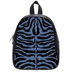 SKN2 BK-MRBL BL-DENM School Bags (Small)