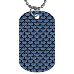SCA3 BK-MRBL BL-DENM (R) Dog Tag (One Side)