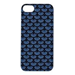 SCA3 BK-MRBL BL-DENM (R) Apple iPhone 5S/ SE Hardshell Case