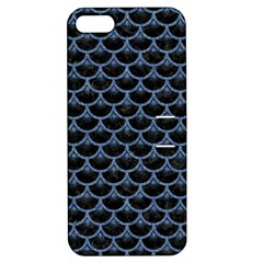 SCA3 BK-MRBL BL-DENM Apple iPhone 5 Hardshell Case with Stand