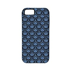 SCA2 BK-MRBL BL-DENM (R) Apple iPhone 5 Classic Hardshell Case (PC+Silicone)