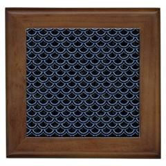 SCA2 BK-MRBL BL-DENM Framed Tiles