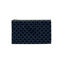 SCA2 BK-MRBL BL-DENM Cosmetic Bag (Small)