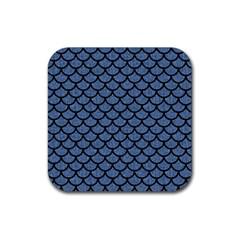 SCA1 BK-MRBL BL-DENM (R) Rubber Coaster (Square)