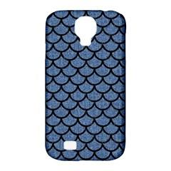 SCA1 BK-MRBL BL-DENM (R) Samsung Galaxy S4 Classic Hardshell Case (PC+Silicone)