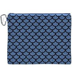 SCA1 BK-MRBL BL-DENM (R) Canvas Cosmetic Bag (XXXL)