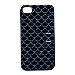 SCA1 BK-MRBL BL-DENM Apple iPhone 4/4S Hardshell Case with Stand