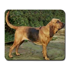 Bloodhound Black And Tan Full Large Mousepads