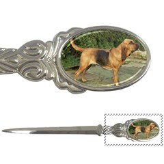 Bloodhound Black And Tan Full Letter Openers