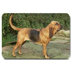 Bloodhound Black And Tan Full Large Doormat