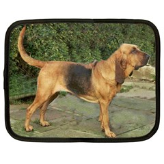 Bloodhound Black And Tan Full Netbook Case (Large)