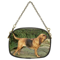 Bloodhound Black And Tan Full Chain Purses (Two Sides)