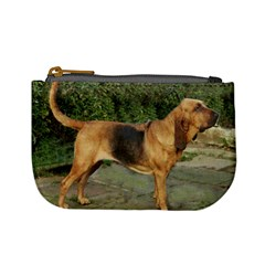 Bloodhound Black And Tan Full Mini Coin Purses