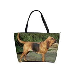 Bloodhound Black And Tan Full Shoulder Handbags