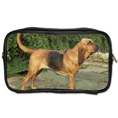 Bloodhound Black And Tan Full Toiletries Bags