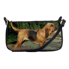 Bloodhound Black And Tan Full Shoulder Clutch Bags