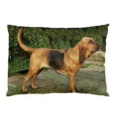 Bloodhound Black And Tan Full Pillow Case (Two Sides)