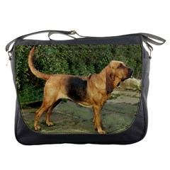 Bloodhound Black And Tan Full Messenger Bags