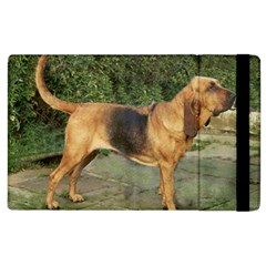 Bloodhound Black And Tan Full Apple iPad 2 Flip Case