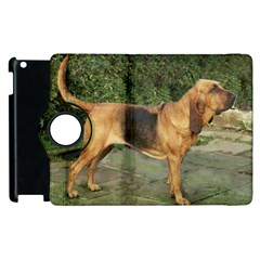 Bloodhound Black And Tan Full Apple iPad 2 Flip 360 Case