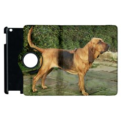Bloodhound Black And Tan Full Apple iPad 3/4 Flip 360 Case