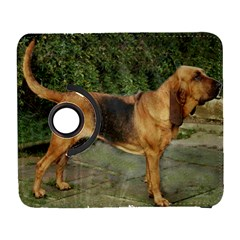 Bloodhound Black And Tan Full Galaxy S3 (Flip/Folio)