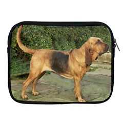 Bloodhound Black And Tan Full Apple iPad 2/3/4 Zipper Cases