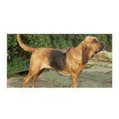 Bloodhound Black And Tan Full Satin Wrap