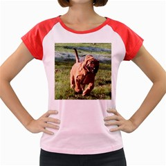 Bloodhound Running Women s Cap Sleeve T-Shirt