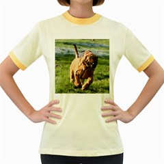 Bloodhound Running Women s Fitted Ringer T-Shirts