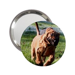 Bloodhound Running 2.25  Handbag Mirrors