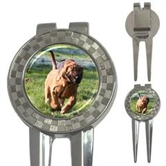 Bloodhound Running 3-in-1 Golf Divots