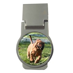 Bloodhound Running Money Clips (Round)