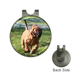 Bloodhound Running Hat Clips with Golf Markers