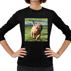 Bloodhound Running Women s Long Sleeve Dark T-Shirts