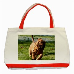 Bloodhound Running Classic Tote Bag (Red)