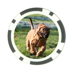 Bloodhound Running Poker Chip Card Guard