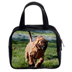 Bloodhound Running Classic Handbags (2 Sides)
