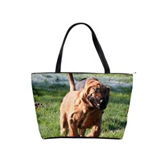 Bloodhound Running Shoulder Handbags