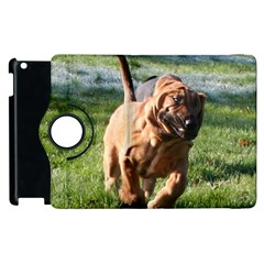 Bloodhound Running Apple iPad 3/4 Flip 360 Case