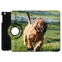 Bloodhound Running Apple iPad Mini Flip 360 Case