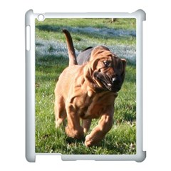 Bloodhound Running Apple iPad 3/4 Case (White)