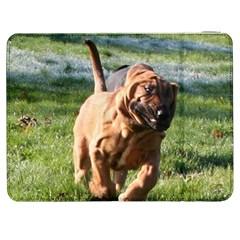 Bloodhound Running Samsung Galaxy Tab 7  P1000 Flip Case
